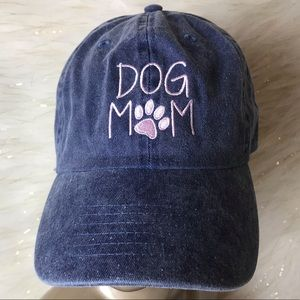 Dog Mom | Denim Baseball Hat NEW